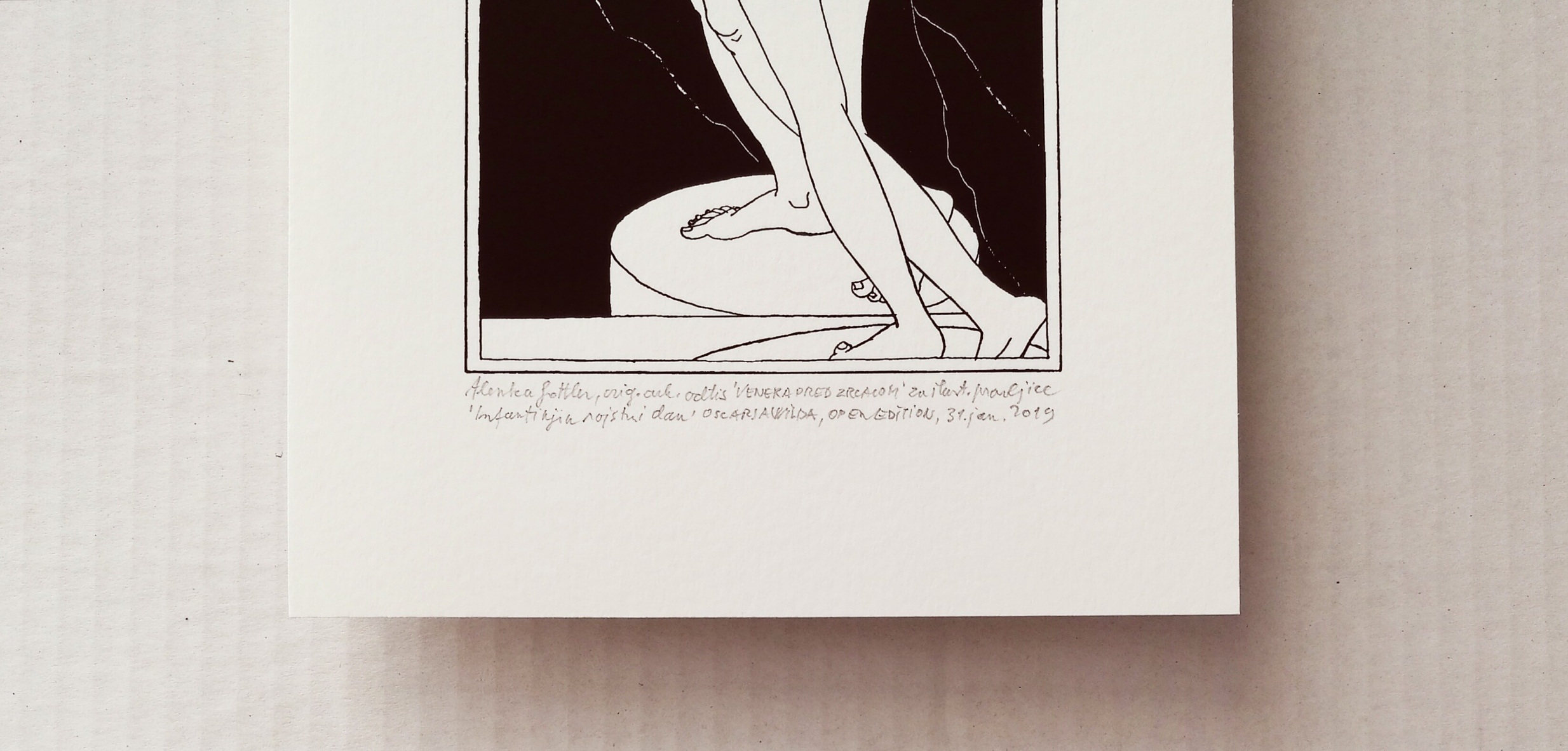 Venus in the mirror